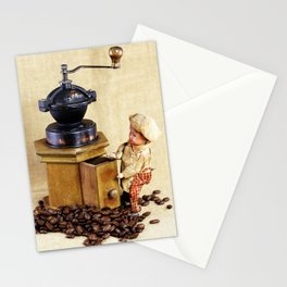 Coffee man 2 Stationery Cards