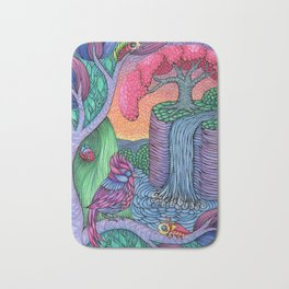 Showdown at Sunset Bath Mat