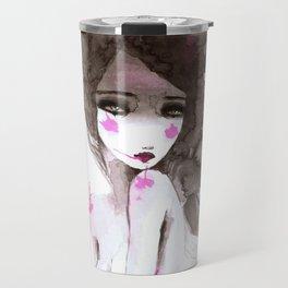 watercolor I Travel Mug