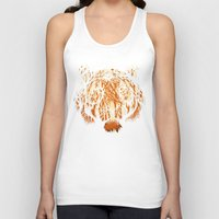 hunter Tank Tops featuring Hidden Hunter by carbine