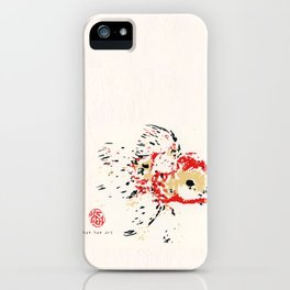 Gold Fish 4 iPhone Case