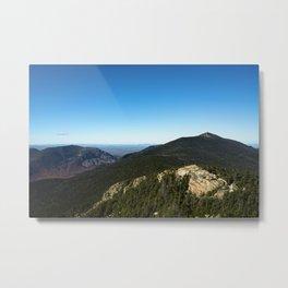 Fall in the White Mountains II Metal Print
