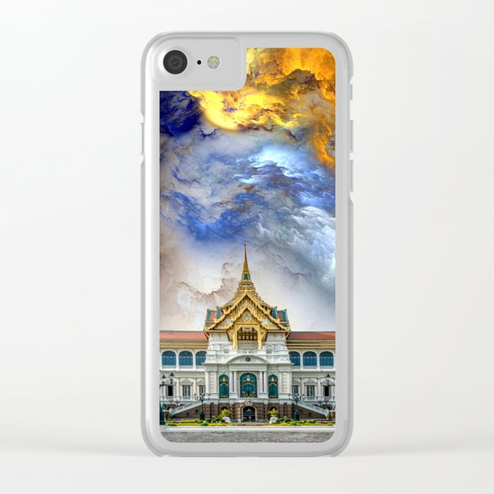 Palace in heaven Clear iPhone Case
