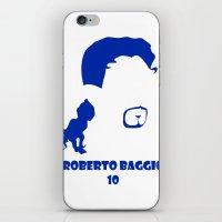 juventus iPhone & iPod Skins featuring Baggio Juventus by Sport_Designs