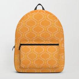 Mediterranean Print - Sunshine Yellow Palette Backpack