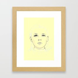 Dorothy - The Yellow Pathway Framed Art Print