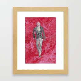 Collage Collection - Ronald Framed Art Print
