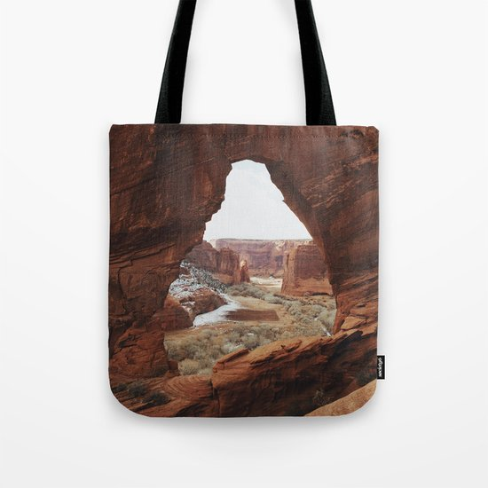 Window Rock Tote Bag