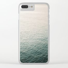 "Coastal beach photography ""Free as the ocean"" | Modern wall Art Sea Ibiza Clear iPhone Case"