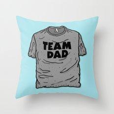 Team Dad Throw Pillow