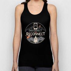 Reconnect... Unisex Tank Top