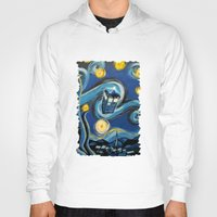 daenerys targaryen Hoodies featuring Tardis Starry Night by DavinciArt