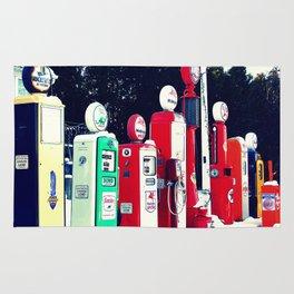 Vintage Gas Station Rug