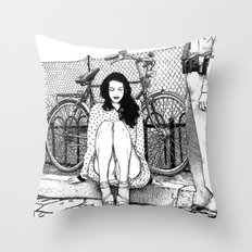 asc 592 - L'amende honorable (A satisfactory apology) Throw Pillow