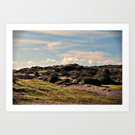 Down in the burrows Art Print