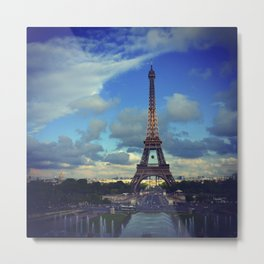 Paris Je T'Aime Metal Print