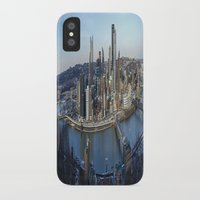 pittsburgh iPhone & iPod Cases featuring PITTSBURGH CITY by Stephanie Michelle