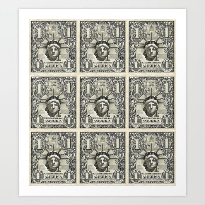 Liberty Dollar Art Print