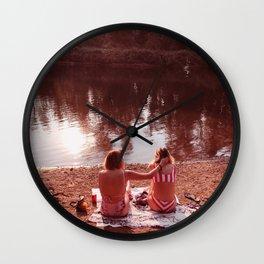 Summer Girls Wall Clock