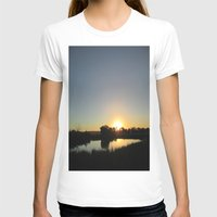 farm T-shirts featuring Farm Sunset by I AmErika