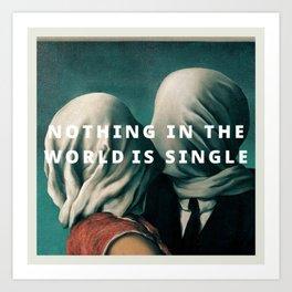lover's philosophy Art Print