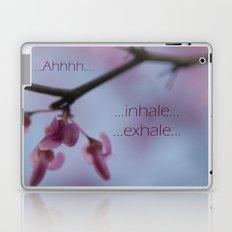 Ahhh Meditation Laptop & iPad Skin