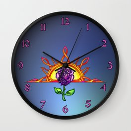 Royal Tudor's Sunrise Wall Clock