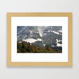 Autumn - Winter 4 Framed Art Print