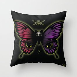 Esoteric Butterfly Throw Pillow