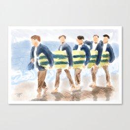 Sunny  Californ-I-A Canvas Print