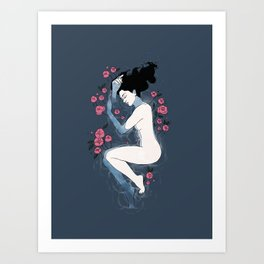 Six Feet Under Art Print