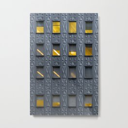 Art Deco Facade Metal Print