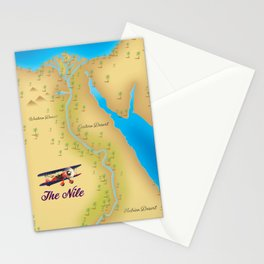 The Nile River Egypt Stationery Cards