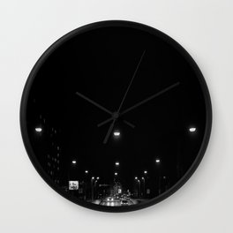 tunnel Wall Clock
