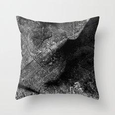 Alien Ultrasound Throw Pillow