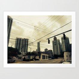 Low Wire Art Print