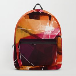 Outbreak - Geometric Abstract Art Backpack