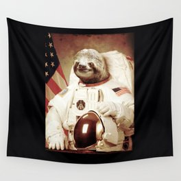 Astronaut animal Wall Tapestry
