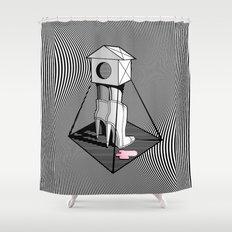 buddka Shower Curtain