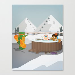 The Nick Yorkers in Faburary Canvas Print