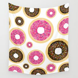 Sprinkle Donuts Wall Tapestry
