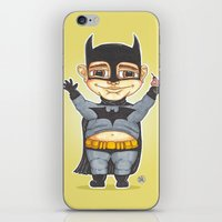 bats iPhone & iPod Skins featuring Bats by Shiny Superhero