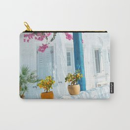 Small Orange Tree Carry-All Pouch
