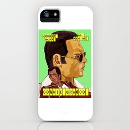 Donnie Brasco iPhone Case