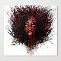Darth Maul Canvas Print