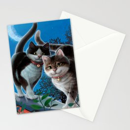 """Mosky Cat """"First love"""" Stationery Cards"""