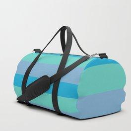 Crisp Blue Duffle Bag