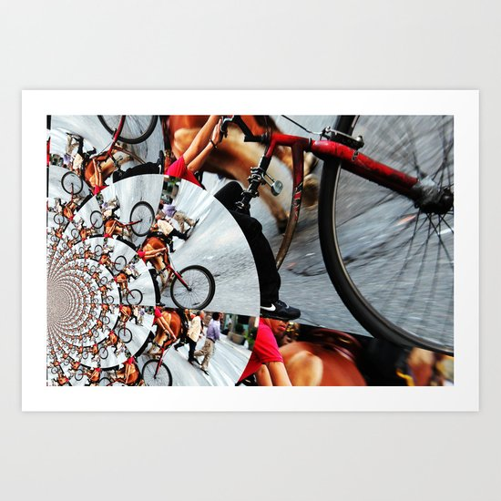 Time Cycle Art Print