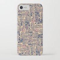 socks iPhone & iPod Cases featuring Socks by Sara Mechael