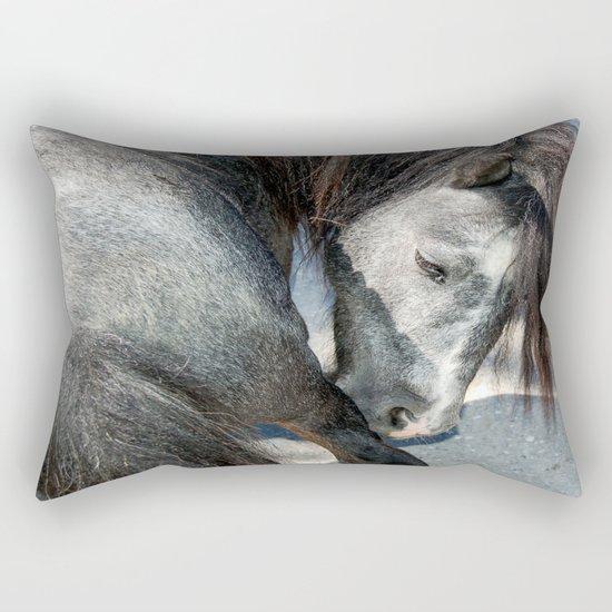 The horse Rectangular Pillow